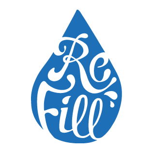 refill logo droplet image