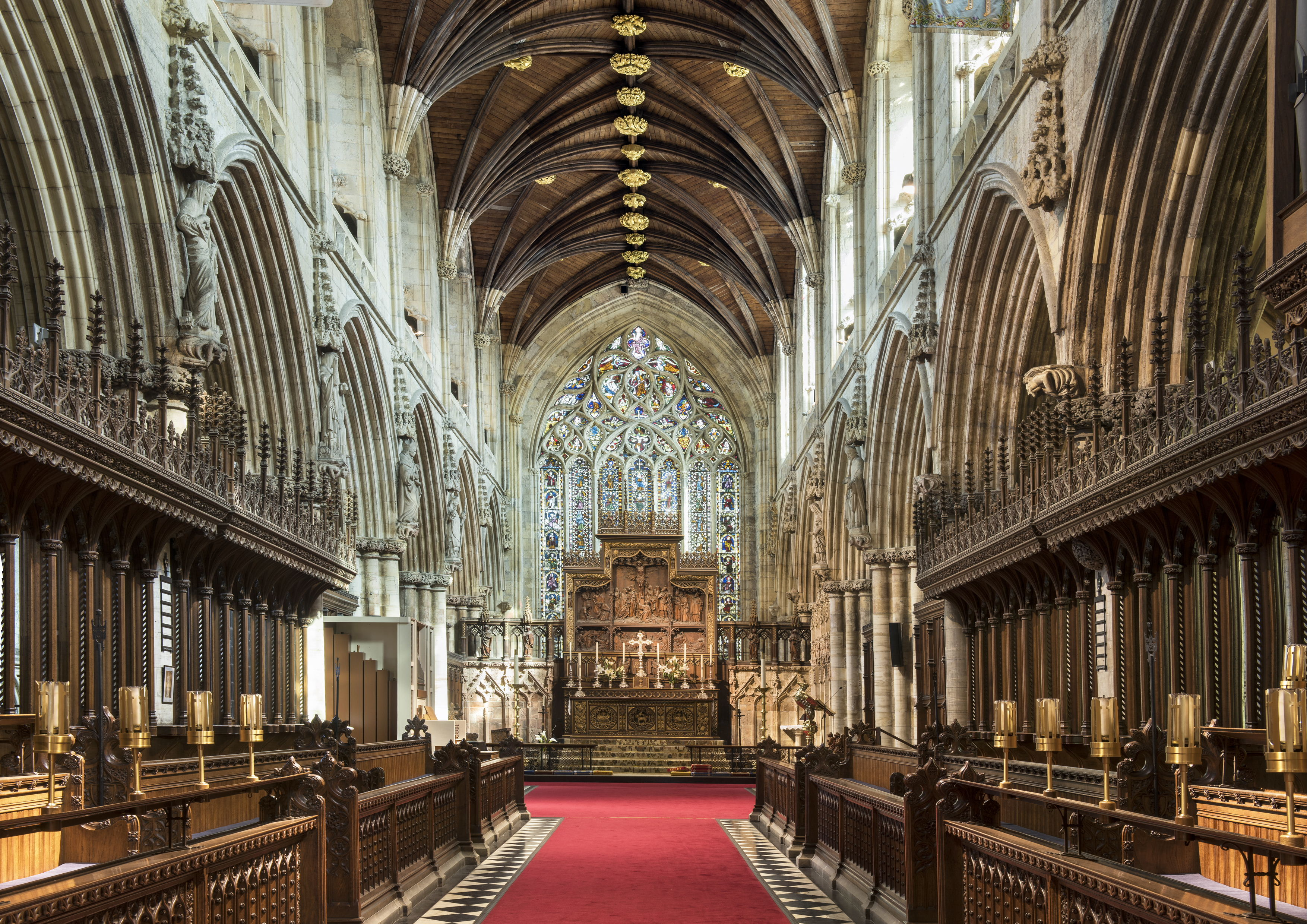 Image of the inside of the Selby Abbey Church