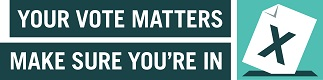 Your vote matters banner