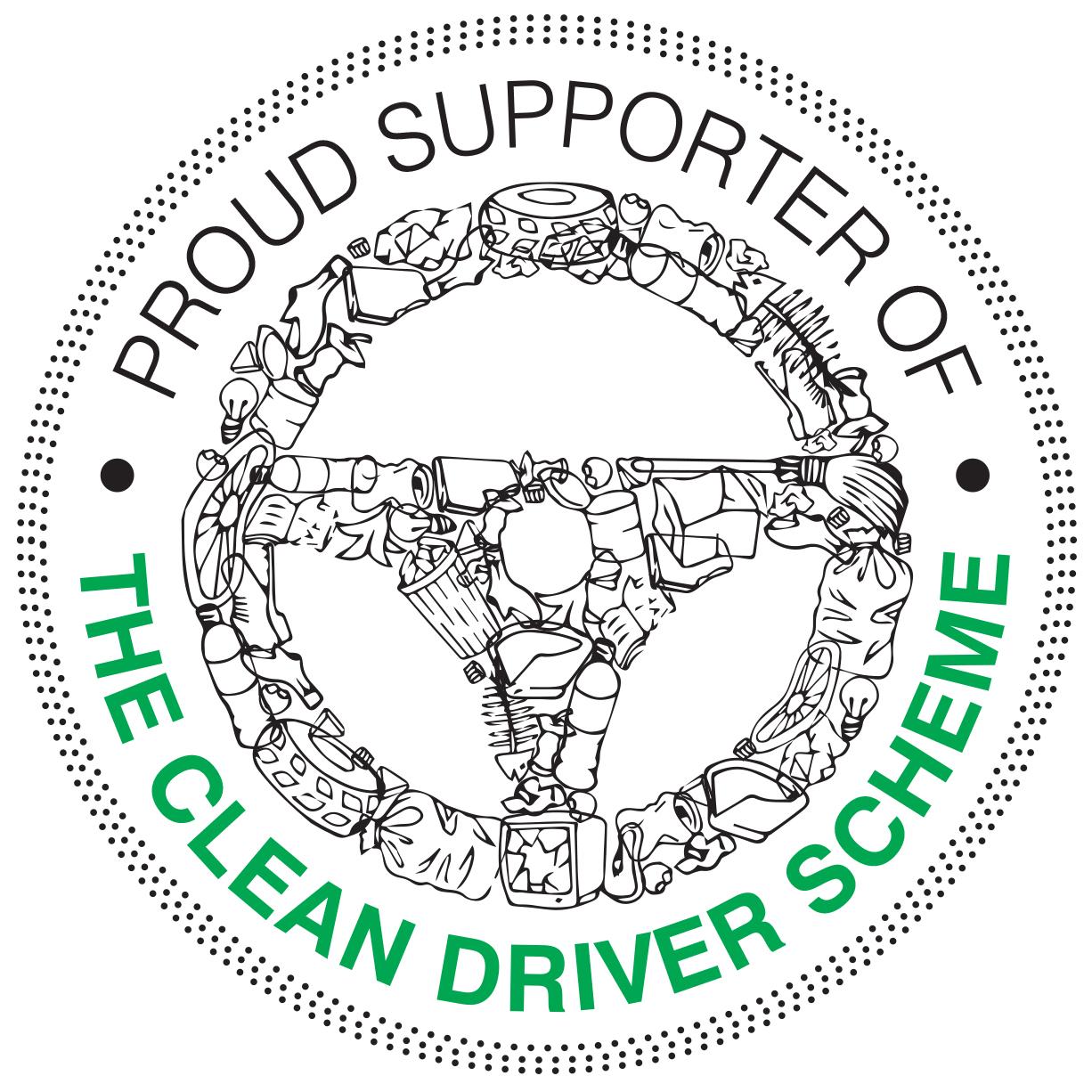 Clean driver scheme logo