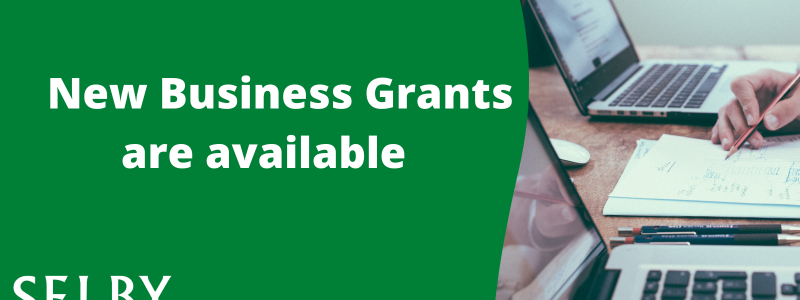 Business grants banner