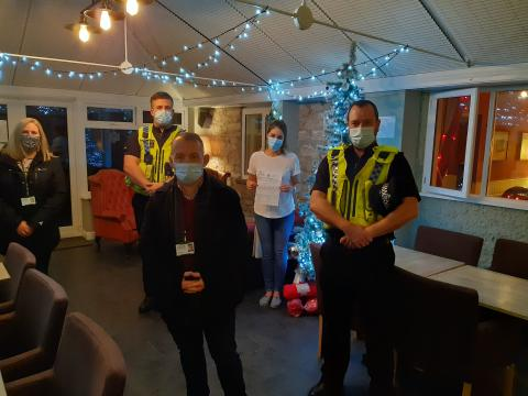 Cllr Richard Sweeting at the enforcement evening
