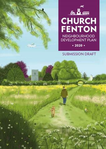 Front cover of the Church Fenton consultation document