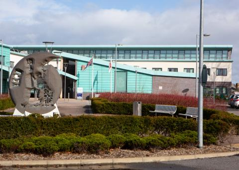 Image of the Civic centre building