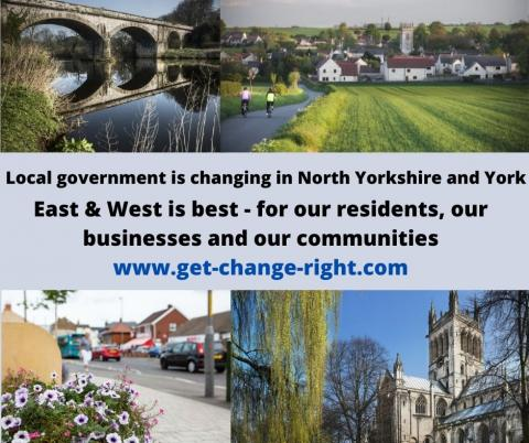Image says Local government is changing in North Yorkshire & York.