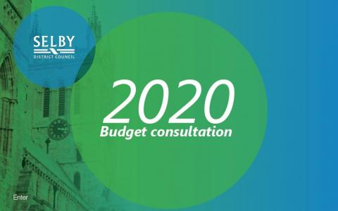 Budget Consultation banner
