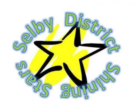 Selby District Shining Star logo