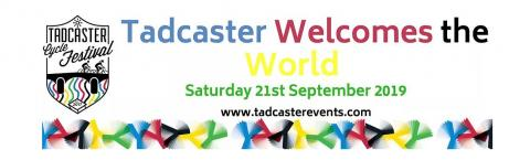 Tadcaster cycle festival banner