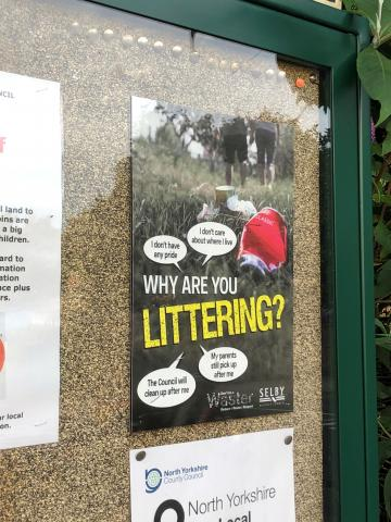 new litter posters