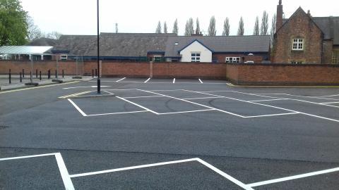 Image of New Lane car park