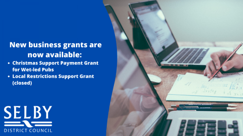 New business grants banner