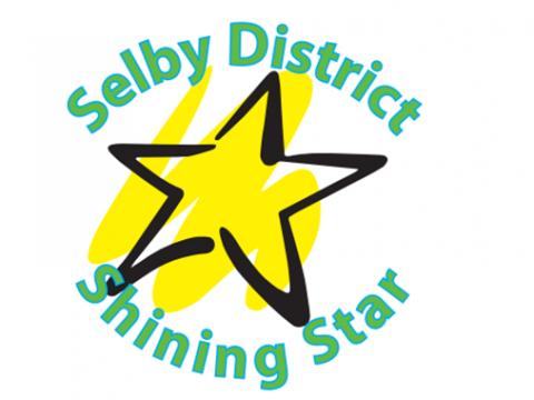 Shining star logo