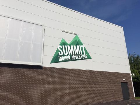 Image of the Summit Indoor Adventure building