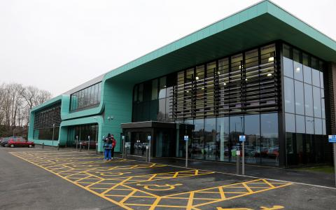 Image of the Selby Leisure Centre building from outside