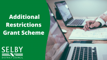 Additional Restrictions Grant Scheme banner