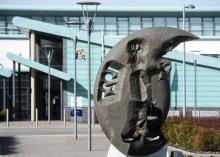 Image of the front of the civic centre building