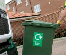 Image of green waste collection