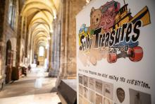 Selby Treasures Exhibition Banner