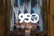 Selby950 project logo with band background