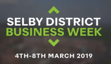 Selby district business week banner