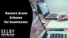 restart grant scheme banner